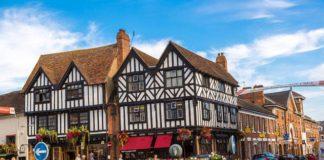 Half timber houses of Stratford upon Avon