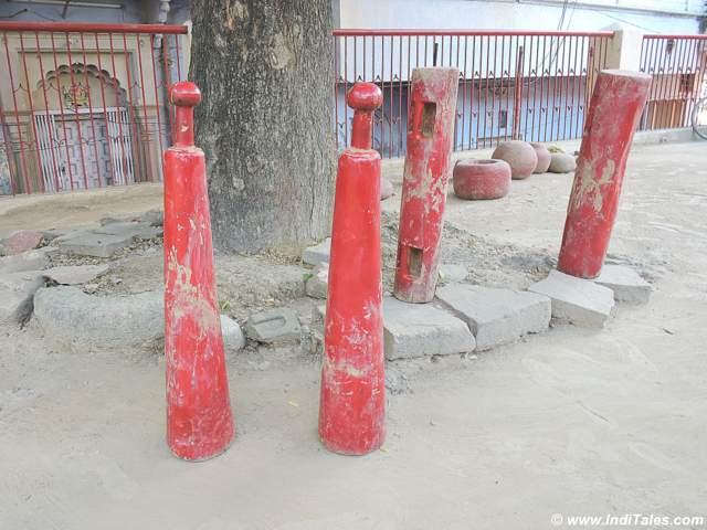 Exercise tools Jodi at Tulsi Akhada
