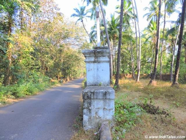 Dovornem - the pit stops on the trade roads - Assagao, Goa