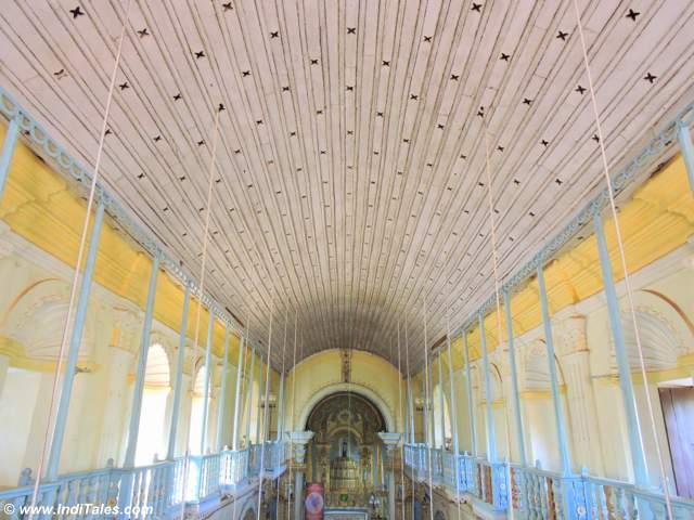 Ceiling of St Cajetan Church