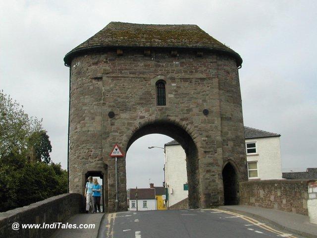 Monnow Bridge Tower at Monmouth