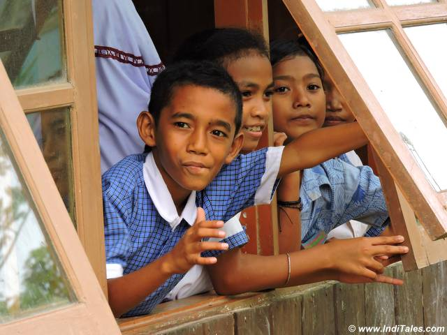 School children at Wasai School in Raja Ampat