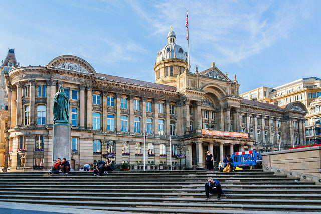 Birmingham - One of the largest English Cities