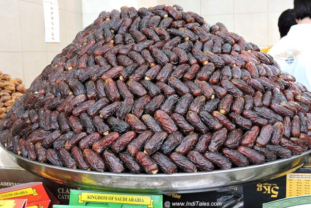 Dates - the most popular of Sharjah Souvenirs
