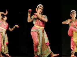 Haleem Khan performing Kuchipudi