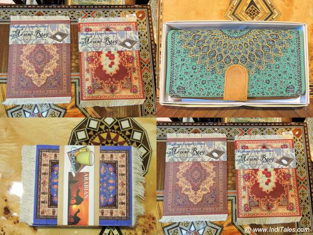 Carpet Inspired Souvenirs from Sharjah