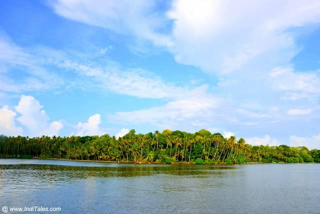 Ashtamudi Lake, Kollam, Kerala. Beautiful Lakes of India