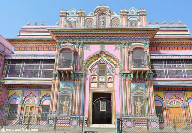 Colorful Houses of Ayodhya