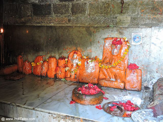 Idols at Batuk Bhairav Temple
