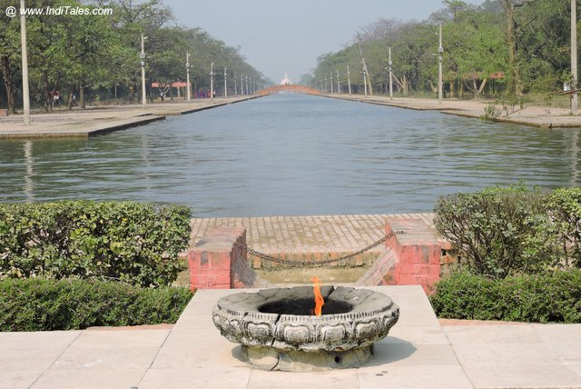 Eternal Flame at Lumbini Park