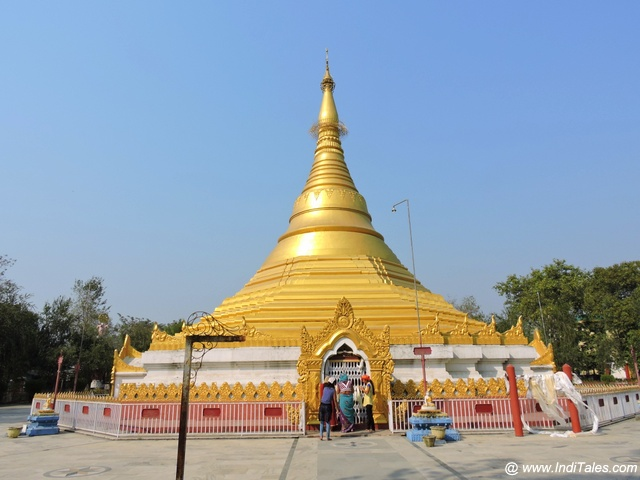 म्यांमार का स्वर्णिम पैगोडा - लुम्बिनी, नेपाल