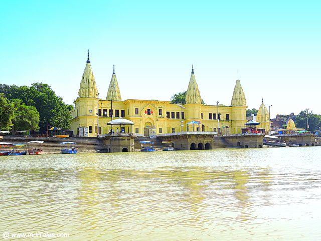 Guptar Ghat on banks of Saryu, Faizabad
