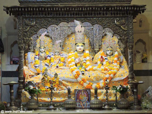 Ram Darbar at Kanak Bhawan, Ayodhya