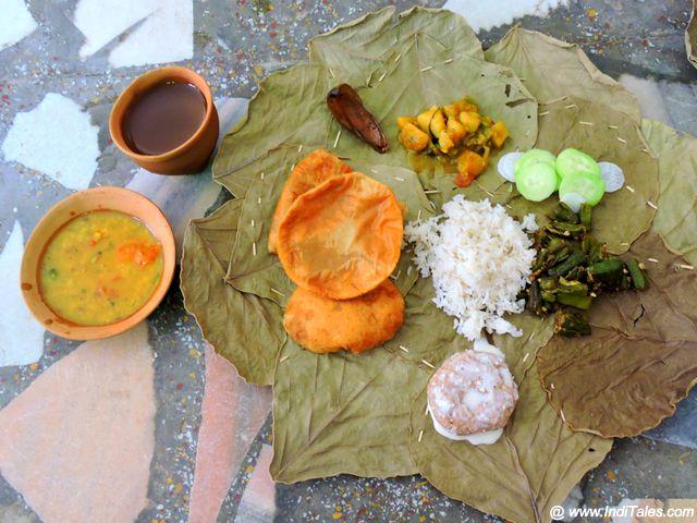 Sattvik Food at Hari Dham in Ayodhya