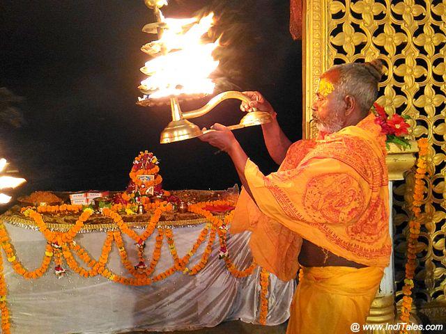 Saryu Arti at Ghats of Saryu in Ayodhya