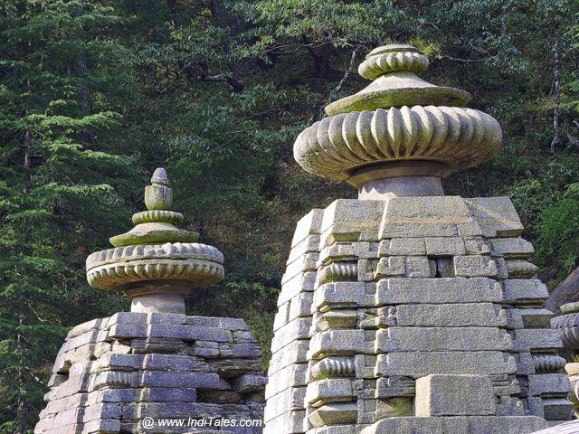 Shikharas of Jageshwar Temples
