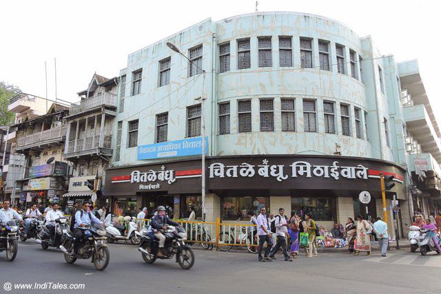 The old Chitale Bandhu shop in Pune