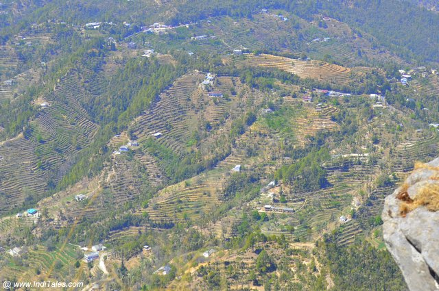Valley view from Mukteshwar Dham