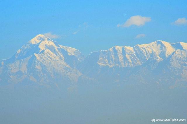 Nanda Devi Peak closeup