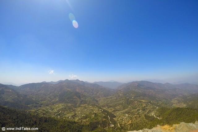 Landscape view, Mukteshwar Dham