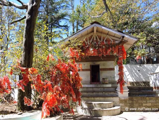 Mandir at Mukteshwar Dham