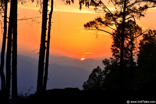 Landscape view of Sunset