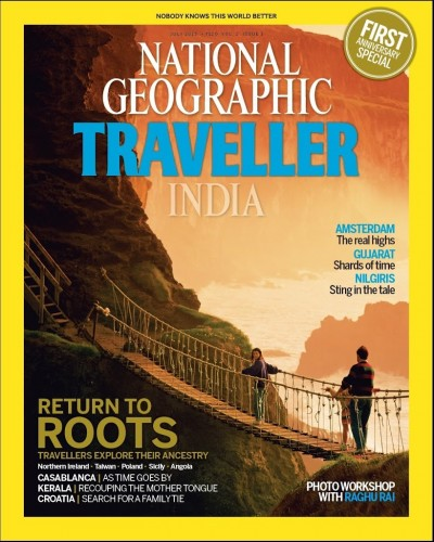 National Geographic Traveller India Anniversary Cover