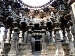 कोपेश्वर मंदिर खिद्रापुर - स्वर्ग मंडप