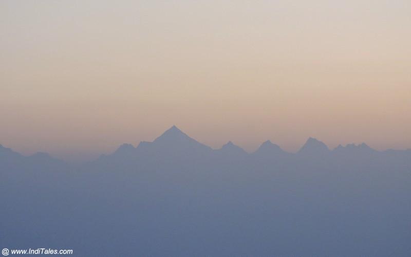 हिमालय पर्वत की नन्दा देवी श्रंखला