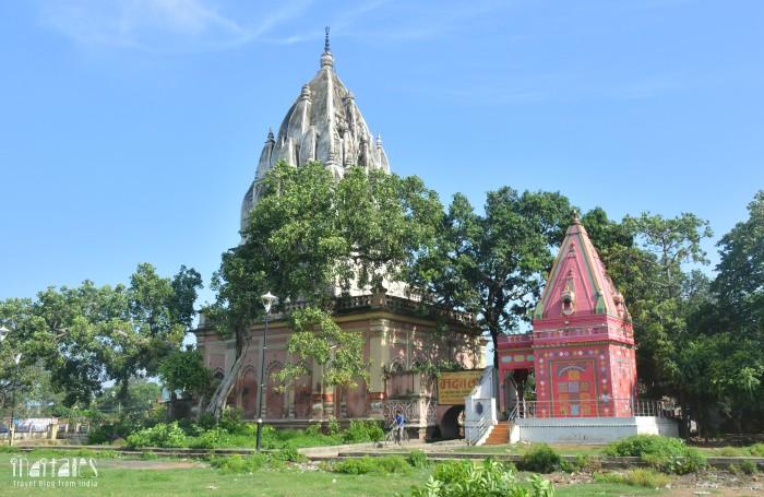 Lakshmishwari Tara Mandir Rear View Darbhanga
