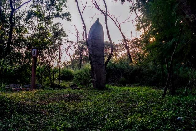 menhir or memorial stone