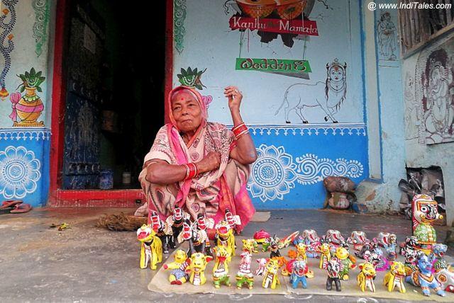 रघुराजपुर गाँव के कलाकार
