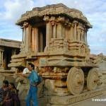 Stone Chariot at Vithala Temple Hampi