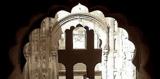 Arched architecture of Lucknow