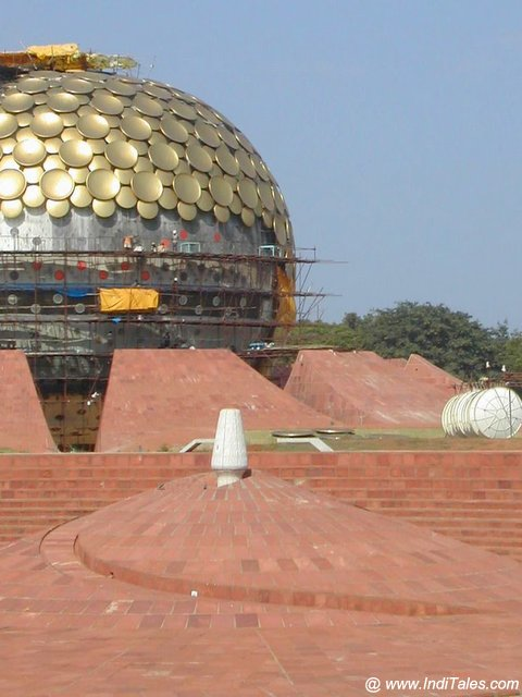 Marti Mandir, Auroville - Weekend in Pondicherry