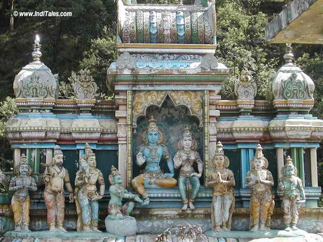 Sita Eliya or the place where Sita supposedly lived in Ravana's captivity in Sri Lanka