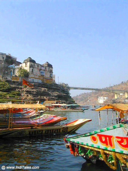 Boats at Omkareshawar - Places to visit near Indore