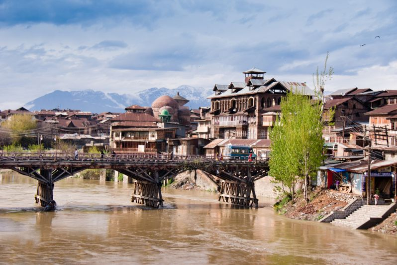 Srinagar Bridge over Jhelum
