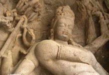 Shiva at Elephanta Caves, Mumbai
