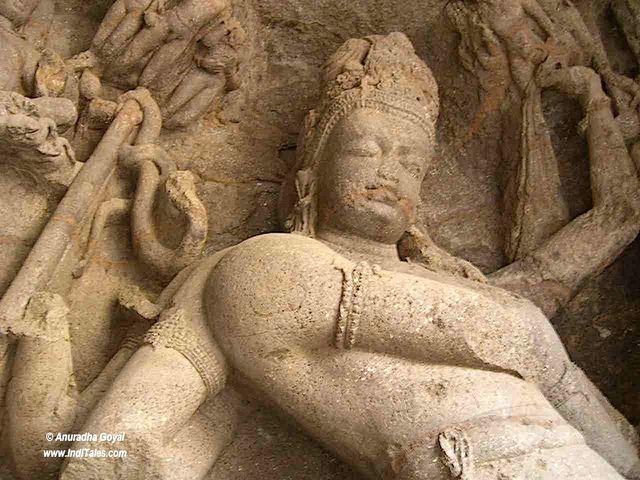 Shiva at Elephanta Caves, Mumbai