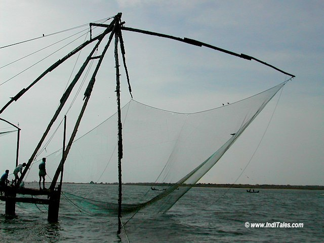 Chinese fishing net at Cochin