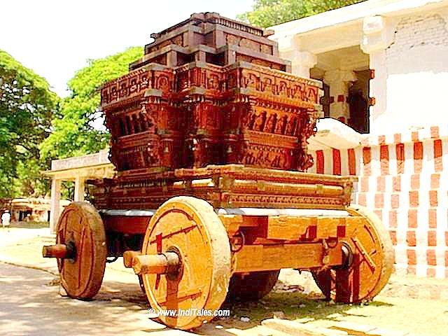 Temple Chariot at Magadi