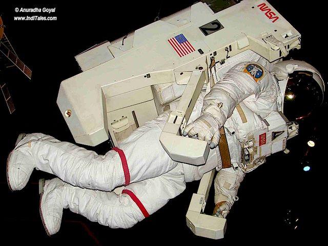 Astronaut at NASA Space Center, Houston