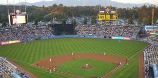 baseball game at houston stadium