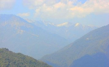Bhutan Travel is like viewing layers and layers of mountains