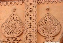 Carvings on Bangalore Palace Walls