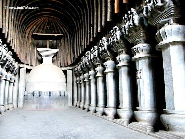 Buddhist Chaitya at Karla Caves Lonavala