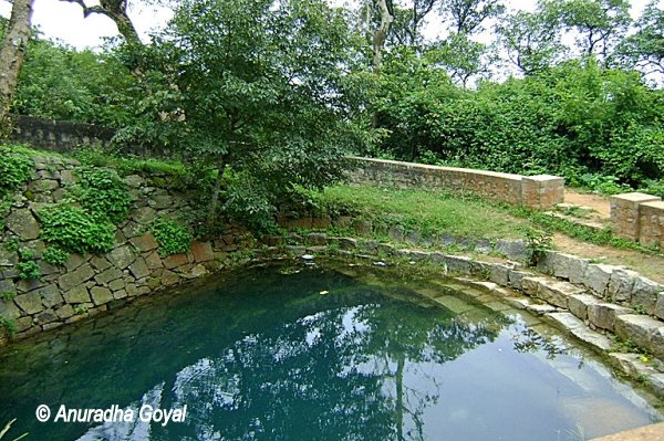 Source of River Arkavathy at Nandi Hills