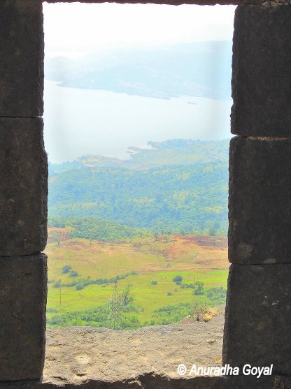View from Lohagad Fort Lonavala