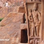 Dwarpalaka at Badami Caves
